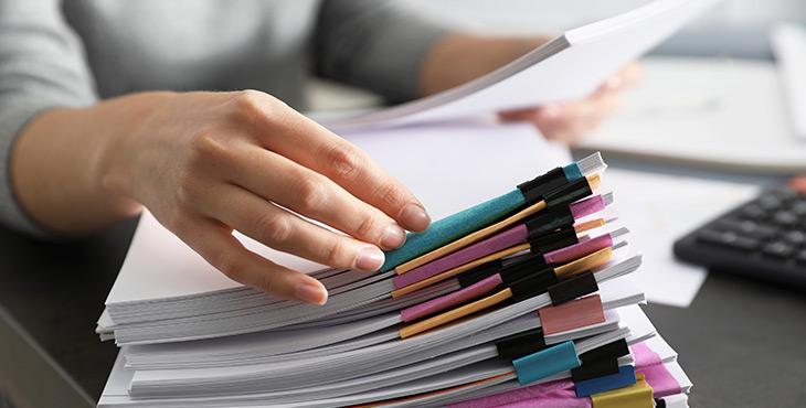 8 dicas de organização de documentos para melhorar a produtividade